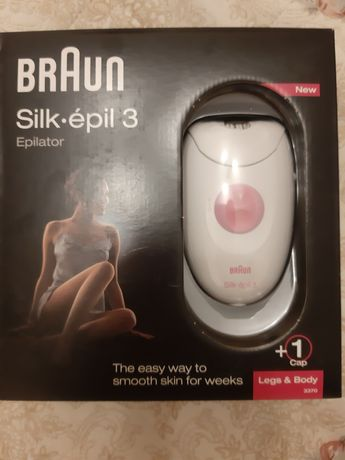 Эпилятор Braun Silk-epil 3