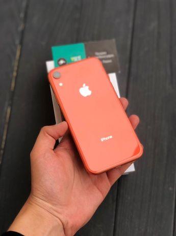 iPhone Xr 64\128gb Coral и Blue c Гарантией 3 месяца