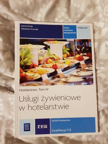 Usługi żywieniowe w hotelarstwie - podręcznik