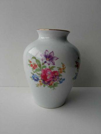 Wazon porcelana Chodzież kwiaty PRL