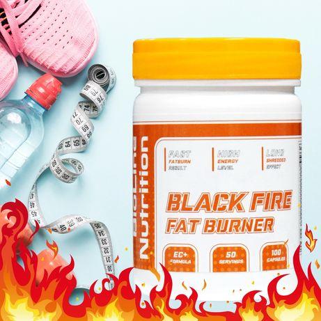 Сверхмощный жиросжигатель Black Fire Fat Burner Германия