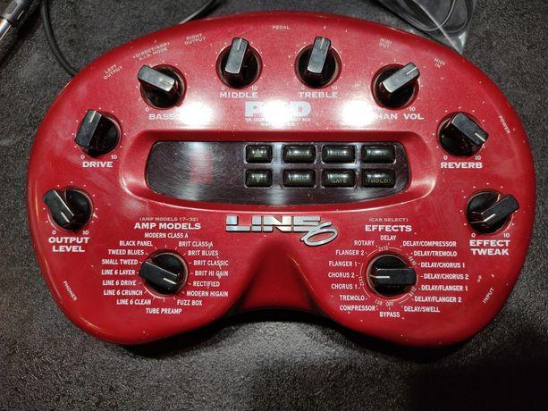 Line6 POD 2.0 nerka, multiefekt gitarowy