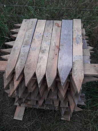 Deski Paliki do ław fundamentowych