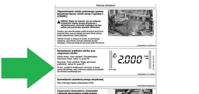 Instrukcja NAPRAW JOHN DEERE 6820, 6920, 6920S WARSZTATOWA po Polsku!