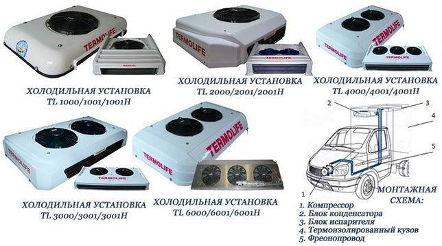 Автомобильные холодильные установки,рефрижераторы и автокондиционеры