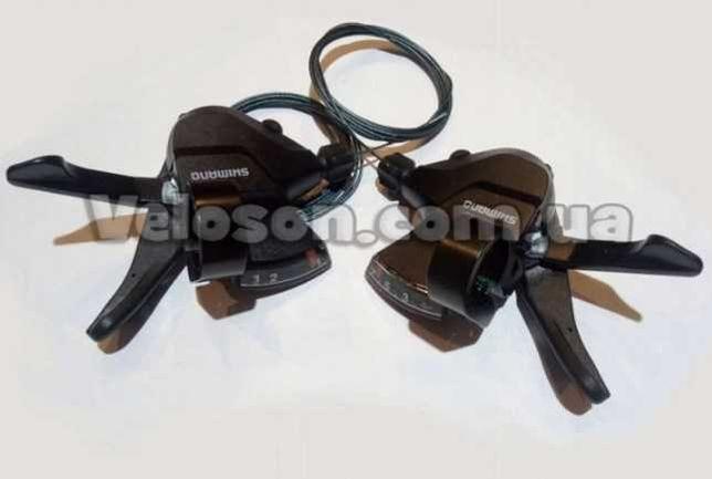 Манетки переключатель Shimano SL-M315 3-7 скоростей ALTUS Черные