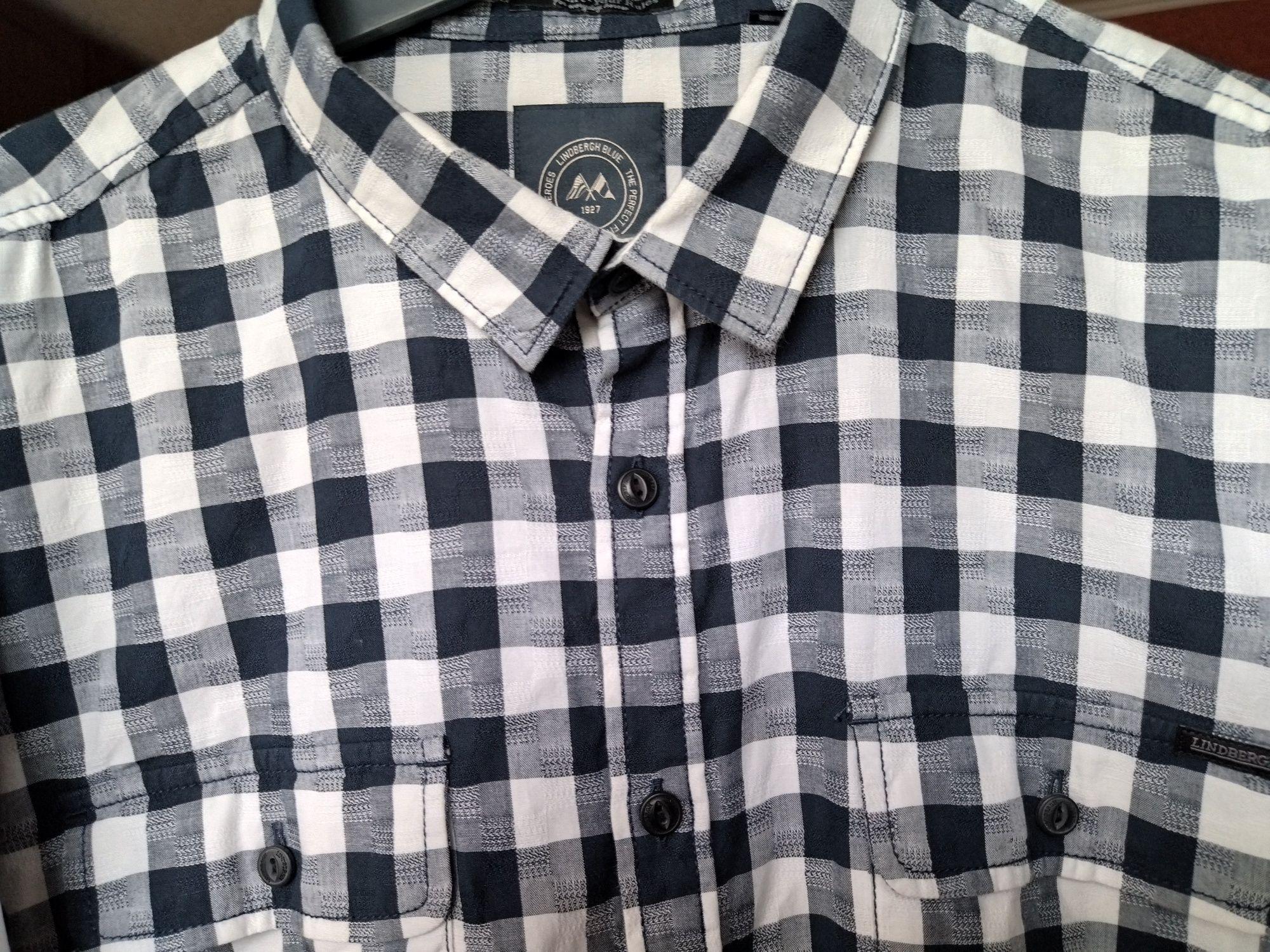 "Рубашки в клетку бренда ""Lindbergh"". Размер XXL"