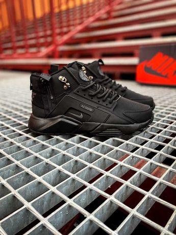 "Зимние кроссовки Nike Air Huarache ""Black"""