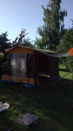 Namiot duży turystyczny