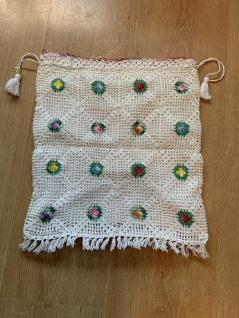Saco de pão em crochet