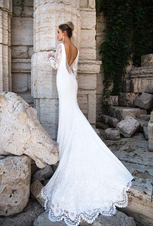 Прокат Свадебное платье Pollardi XS S Весільне плаття XS/S Pollardi