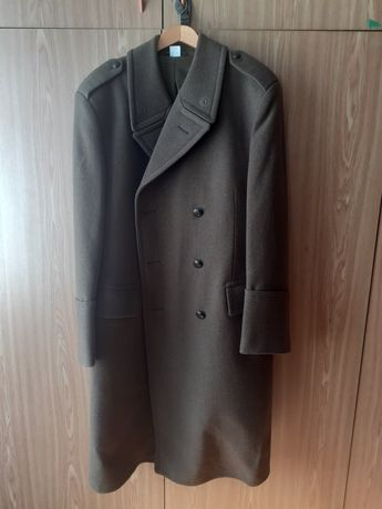 Płaszcz wojskowy zimowy.