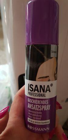 Spray Isana na odrosty, czarny, nowy