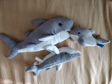 baby shark мягкие акулы акулёнок дельфин кит мягкая игрушка акула