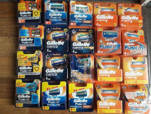 Gillette картриджи из Европы