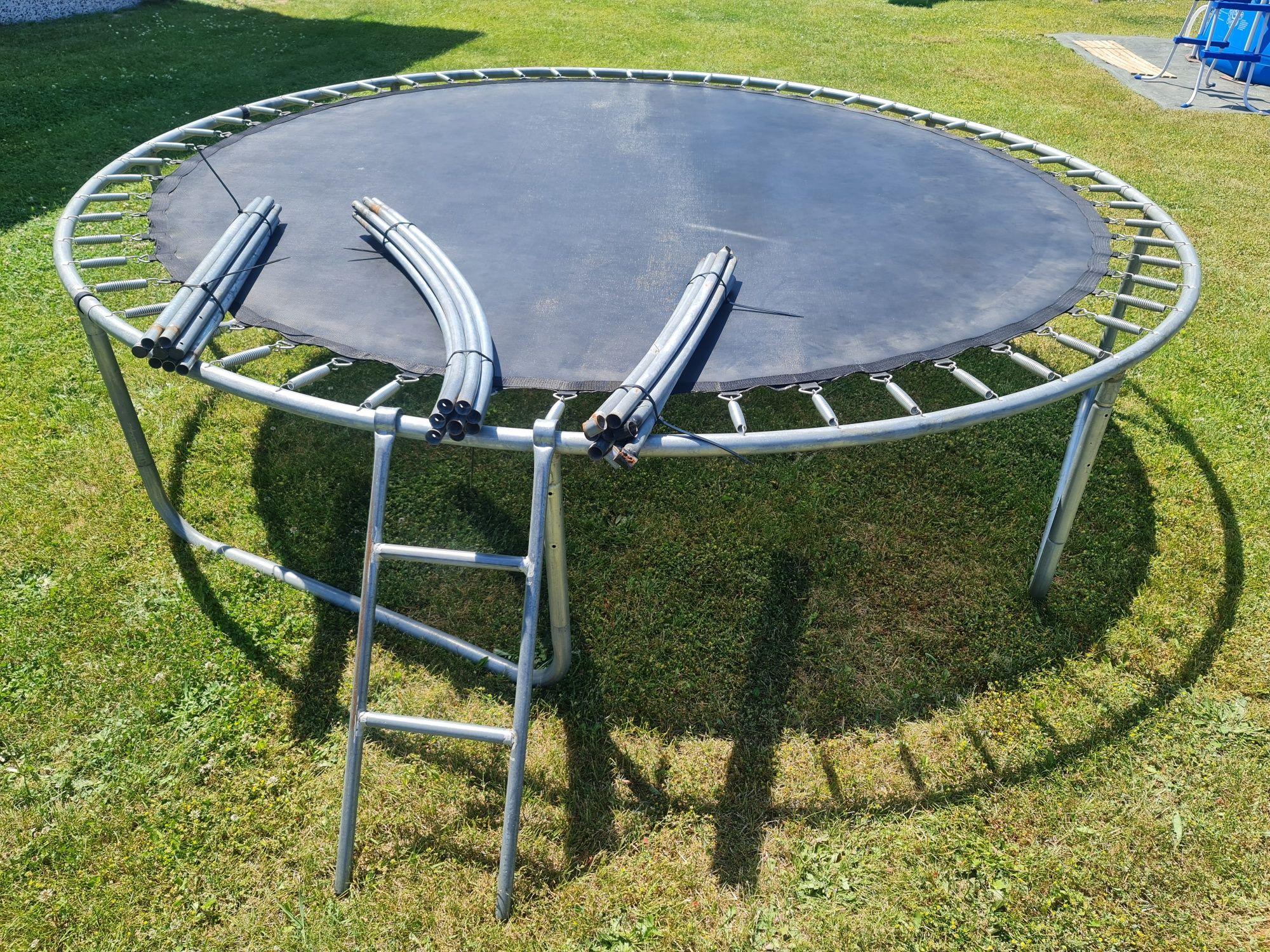 Trampolina 3m z ringiem