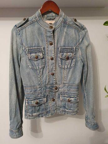 Bluza jeans marynarka