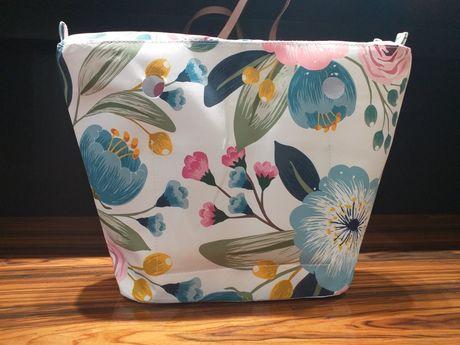 Kolorowy w kwiaty organizer do torebki Obag Standard