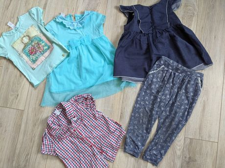 Платье комплект вещей на 2-3 года девочка