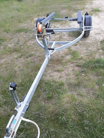 Прицеп оцинкованный лодочный лафет для пвх казанки риб мкм документы
