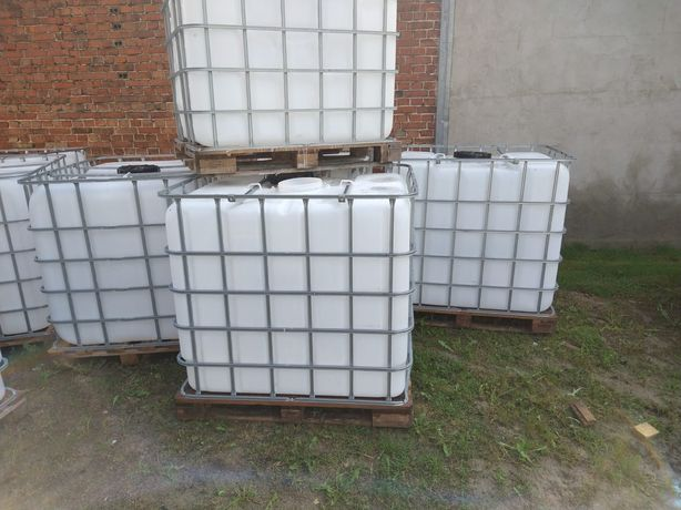 Zbiornik beczka 1000l mauser zbiorniki 1m3