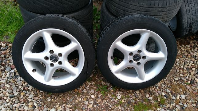 "Felgi aluminiowe 15"" Skoda Fabia Octavia Seat Ibiza Leon 5x100 7Jx15"