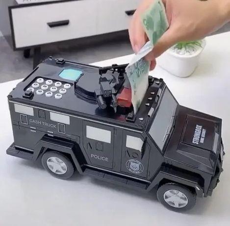 Дитячий Сейф машинка
