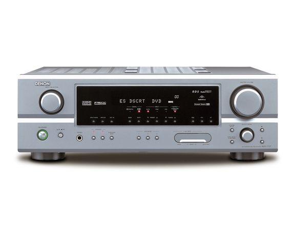 Amplificador Denon AVR-1707 7.1 Receiver with Auto Setup