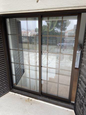 Porta janela vidro duplo