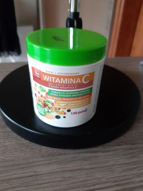 Witamina C 150 g zapakowana Intenson 150 porcji suplement diety