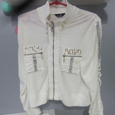 Włoska biała bluza