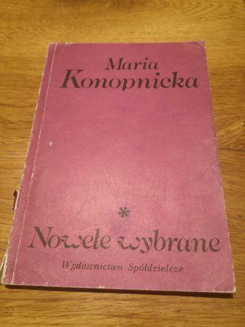 """Maria Konopnicka """"Nowele wybrane"""""""