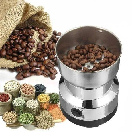 Кофемолка металлическая DOMOTEC MS-1206 150 Вт измельчитель кофе