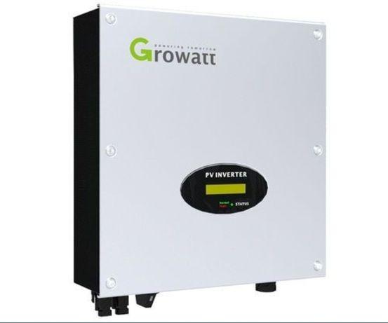 Inversor on grid injeção 5 anos garantia Growatt