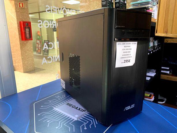 Torre Gaming i3 3.7Ghz - 8Gb - GTX1050 - Garantia 12 Meses