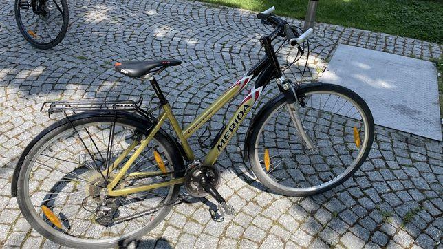 Damski rower MERIDA złoty sprawny