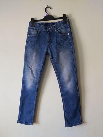 C&A Chłopięce spodnie  jeansy  przecierane 152