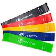 Фитнес резинки для фитнеса U-Powex из 5 лент и чехла