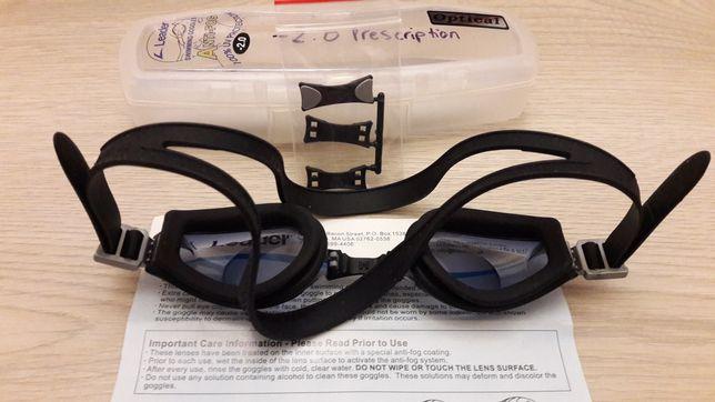 Очки для плавания -2.0