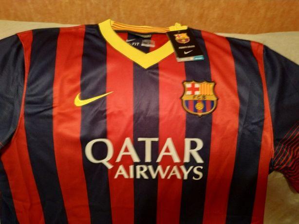 Футболка ФК Барселона сезона 2014 года. Новая.