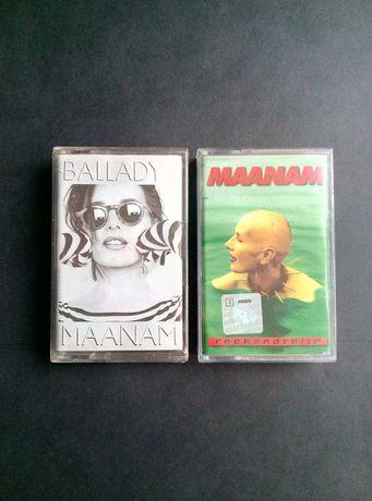 Dwie kaset MAANAM  bardzo dobry stan