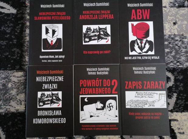 Wojciech Sumliński/Tomasz Budzyński - pakiet 6 książek