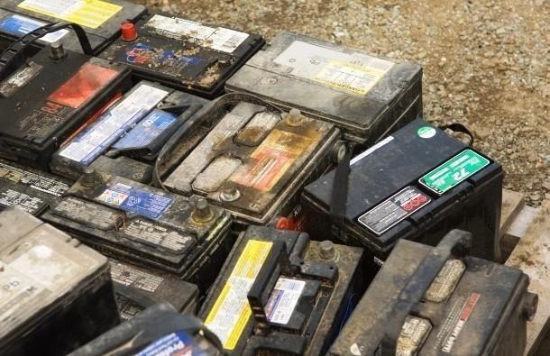 Recolho baterias novas velhas boas e estragadas