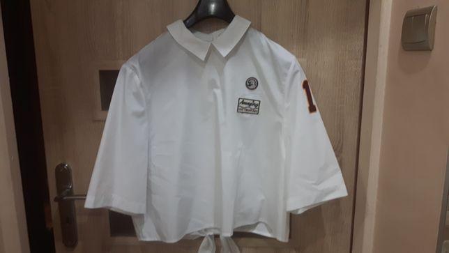 Koszula biała krótka