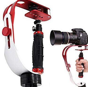 Reczny stablizator obrazu uchwyt do kamer aluminium