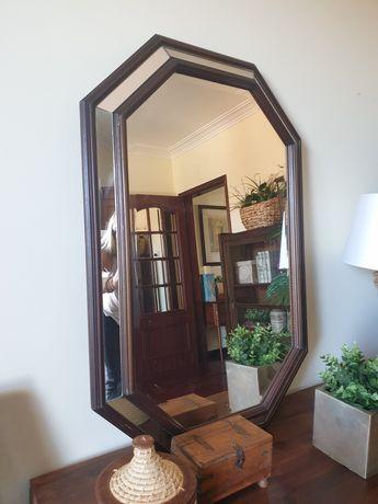 3 espelho, talha, dourado, antigo, vintage, rustico, decoração
