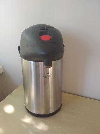 Термос с помпой Stenson 3,5 л