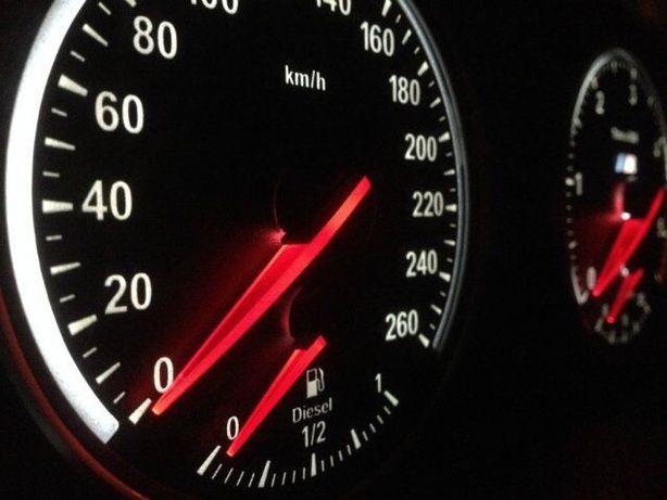 BMW переделка в М приборку на E60 E61 E70 E71 E90, Европейские шкалы