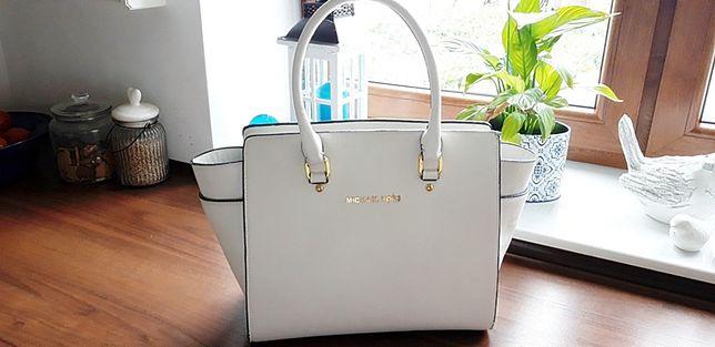 biała torebka nowa
