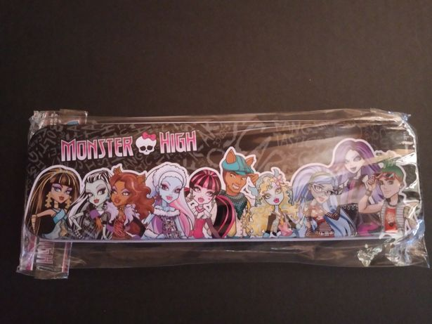 Piórnik metalowy Monster High